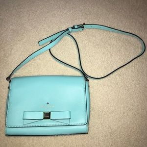 Kate Spade Teal Crossbody Bag